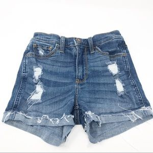 Hollister Jean Cut Offs 00